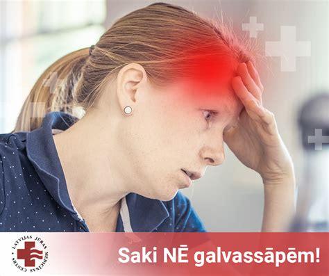 Galvassāpes - diagnostika, cēloņi, ārstēšana - Saki NĒ ...