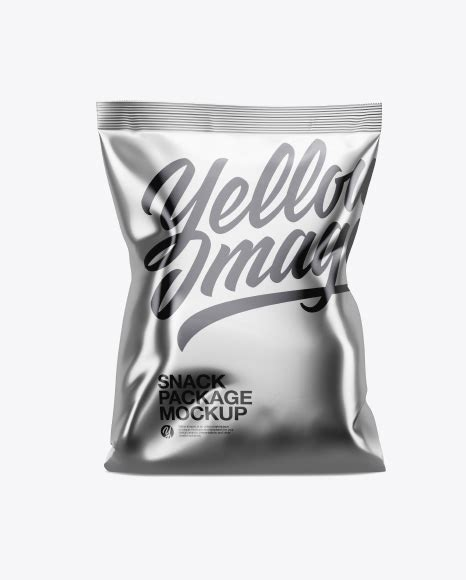 This mockup is available for the purchase on yellow images only. Download Psd Mockup Bag Candies Chips Cookies Food Golden ...