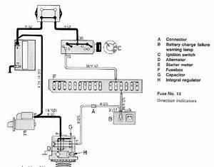 Alternator Installation And Cluster Lamp  Idiot Light
