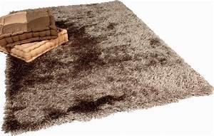 Tapis Blanc Poil Long : tapis poil long ~ Teatrodelosmanantiales.com Idées de Décoration