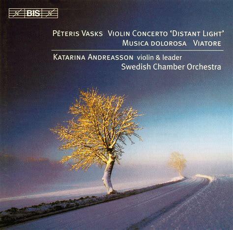 Swedish Chamber Orchestra, Katarina Andreasson: Vasks: Violin Concerto - CD - Opus3a
