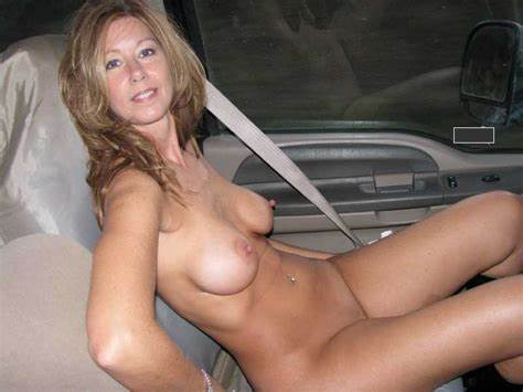 Topless Granny Yo Selfies Auto Braless Webcam Muse In Cars