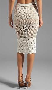 Unlined Crochet Skirts