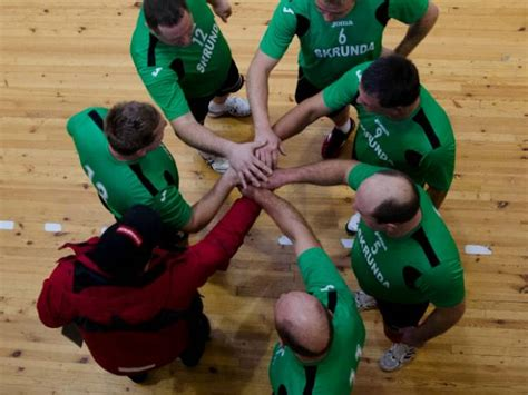 Skrundas volejbola veterāni spēlē Babītē - Skrundas novada pašvaldībaSkrundas novada pašvaldība