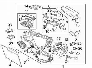Cadillac Xts Console Wiring Harness  Front   Console  U0026 Components  W  O Rear Temp Cntrl