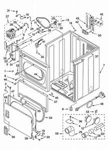 Whirlpool 3xwed5705sw1 Dryer Parts