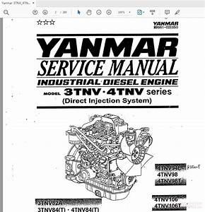 Yanmar 3tnv 4tnv Diesel Engine M9961