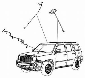 2014 Jeep Compass Cable  Satellite Radio   Sirius