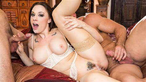 Evilangel Chanel Preston Latex Closeup Fucks chanel preston & johnny castle & ryan drillercome by for