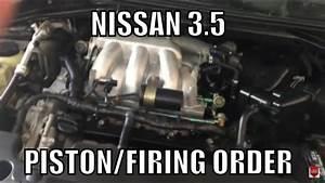 Nissan 3 5 Firing Order - Piston Order