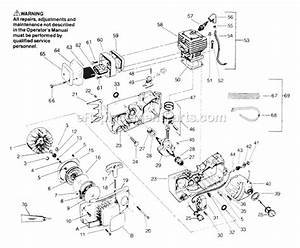 Poulan 2150 Fuel Line Routing Diagram