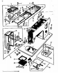 Kenmore Kenmore Sewing Machine Head Parts