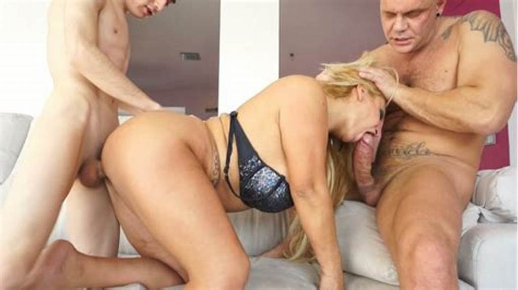 #Nasty #Milf #With #Big #Boobs #Alexa #Blun #Fucked #Hard #In #Threesome