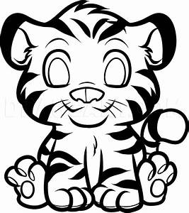 How To Draw An Anime Tiger  Step By Step  Drawing Guide