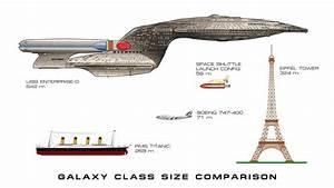 Galaxy Class Uss Enterprise Ncc 1701 D Comparison Chart
