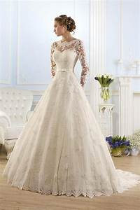 25 long sleeve wedding dresses you will fall in love with With lace sleeved wedding dresses