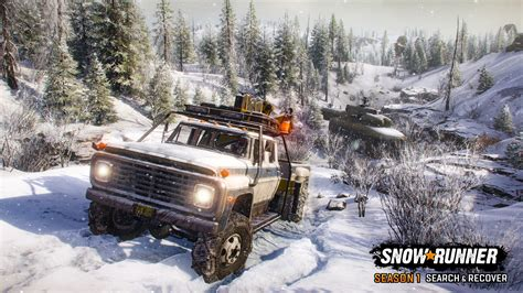 That should allow them to offer not only higher graphics level but also advanced water, mud, ice and snow. SnowRunner Screenshots | gamepressure.com