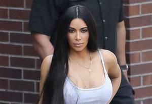 Video  Braless Kim Kardashian Exposes Her Nipples In