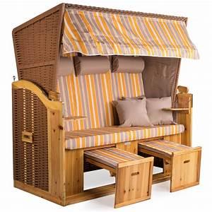 Strandkorb Xxl Volllieger : strandkorb xxl deluxe 160cm volllieger gartenliege nordsee ~ Watch28wear.com Haus und Dekorationen