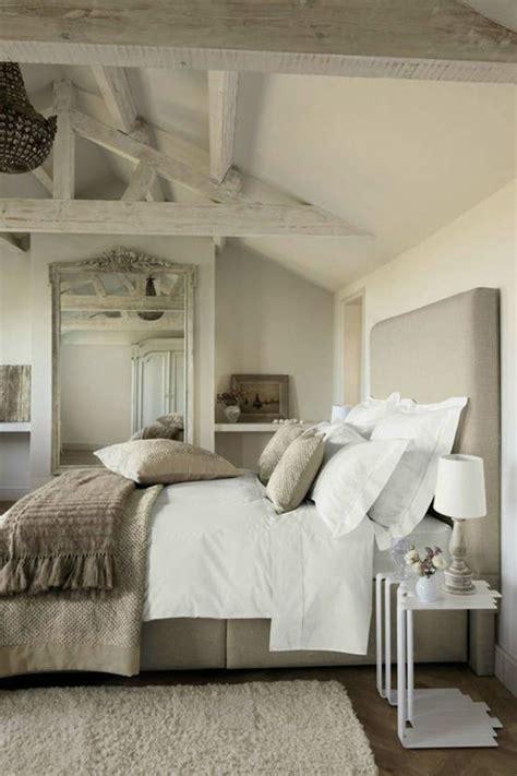 amenagement de chambre style cagne chic pour un intérieur authentique et