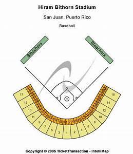 Hiram Bithorn Stadium Seating Chart Hiram Bithorn