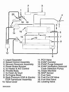 Vacuum Hose Diagram  Vacuum Hose Diagram For 99 Mitsubishi Eclipse