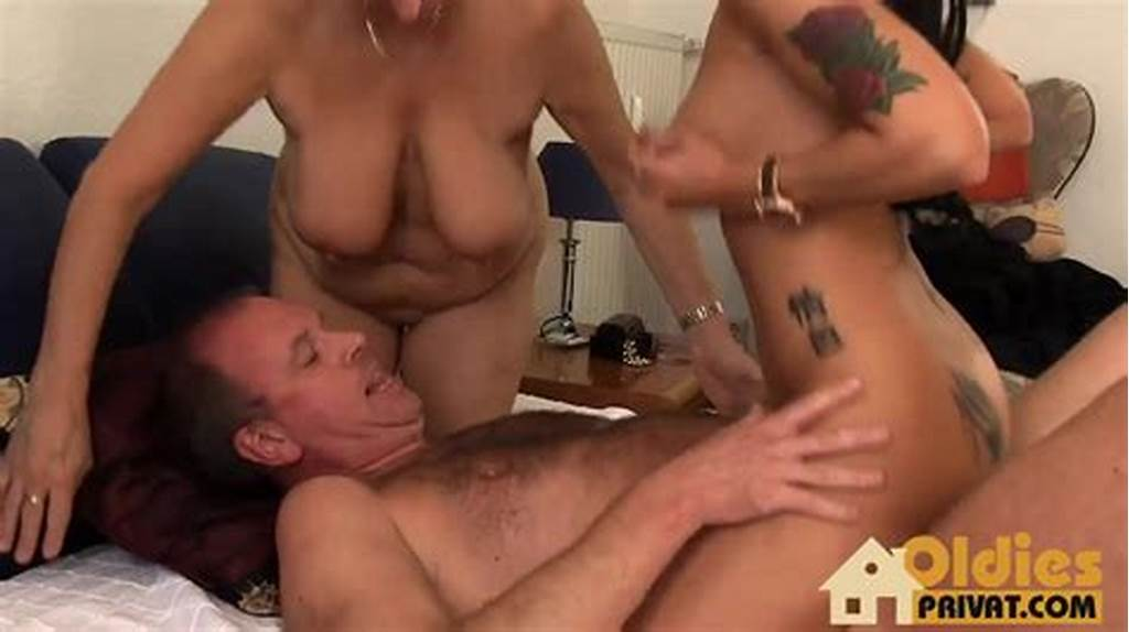 #Fat #And #Skinny #Older #Women #Have #A #Threesome