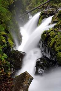 sol duc falls waterfall sol duc river olympic national