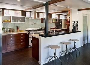 Deco appartement cuisine ouverte for Idee cuisine americaine appartement