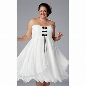 Robe Pour Femme Ronde : robe blanche pour femme ronde photos de robes ~ Nature-et-papiers.com Idées de Décoration