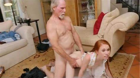 Teenage Rammed By Red Haired Penis
