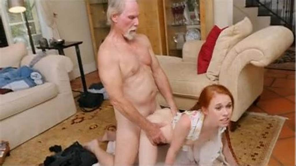 #Redhead #Dolly #Little #Takes #Old #Mans #Dink #Doggystyle