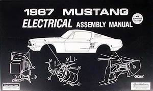 1967 Ford Mustang Chassis Assembly Manual Reprint