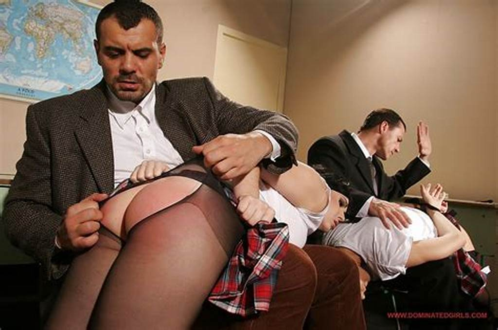 #Submissive #Schoolgirls #Get #Punished #And #Fucked #Hardcore #By