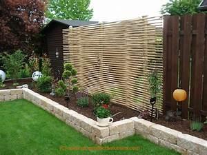 Sichtschutz Stoff Terrasse : bildergallery bambus sichtschutz ~ Markanthonyermac.com Haus und Dekorationen