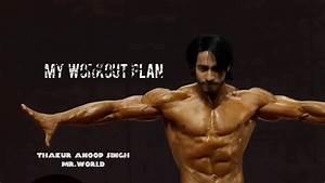 The Workout Plan Of Gold Medalist Bodybuilder Thakur Anoop Singh  Visit   Bit Ly  1thnrwj