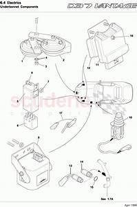 Aston Martin Db7 Vantage Underbonnet Components Parts