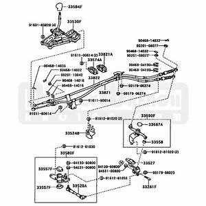 Toyota Oem Shifter Cable  1   U2013 Mr2 Spyder 00