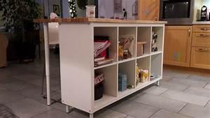 Ikea Bar Cuisine : ilot de cuisine pas cher ~ Teatrodelosmanantiales.com Idées de Décoration