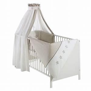 Baby Bettset Mädchen : schardt bettset stern beige babyzimmer ~ Watch28wear.com Haus und Dekorationen