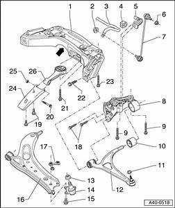Audi Workshop Manuals  U0026gt  A2  U0026gt  Running Gear  Front
