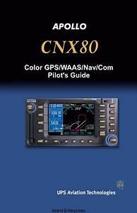 Apollo Cnx80 Color Gps  Waas  Nav  Com Pilot U0026 39 S Guide 2003