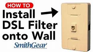 Dsl Filter For Wall Phone Jack Intstallation