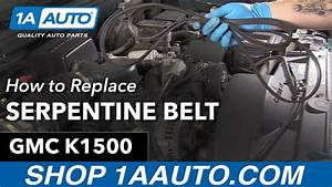 How To Replace Serpentine Belt 90