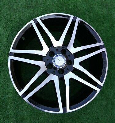 I have a set of factory 19's from a 2011 e63 with tires. 19 INCH GENUINE MERCEDES AMG E CLASS ALLOY WHEEL W212 A2124014702 FRONT BLACK   eBay