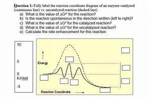 Energy Diagram Catalyzed Vs Uncatalyzed Reaction