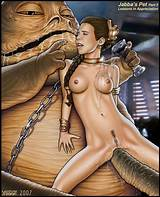 Shabby blue porn star wars