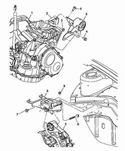 2005 Dodge Neon Sxt Engine Diagram : 5274952aa genuine mopar support engine mount ~ A.2002-acura-tl-radio.info Haus und Dekorationen