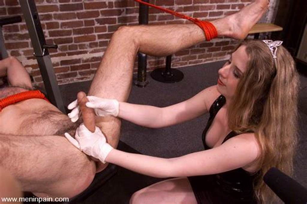 #Nude #Man #Gets #His #Face #And #Ass #Spanked #By #Tall #Blonde