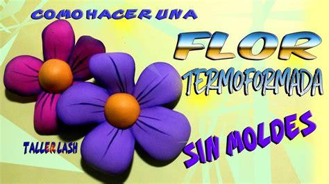 Flor Termoformada en Fomi sin Moldes Taller Lash